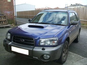 LPG Conversion Subaru Forester 2.5L flat4 year 2002 by OZON LPG
