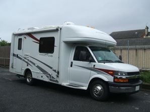 LPG Conversion Motorhome Chevrolet 5.7L V8 year 2008