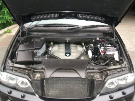 LPG Conversion BMW X5 4.4L V8 Valvetronic year 2005 with Multipoint Gas Injection System