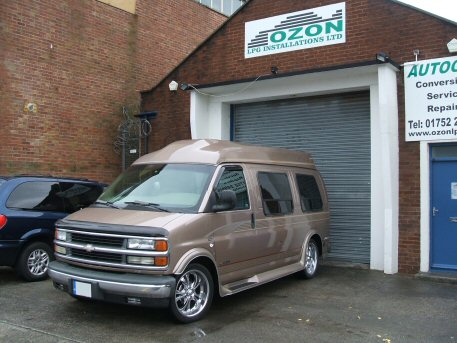 LPG Conversion Chevrolet Express 57L V8 Year 1998