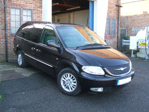 LPG Conversion Chrysler Grand Voyager 3.3L V6 year 2004