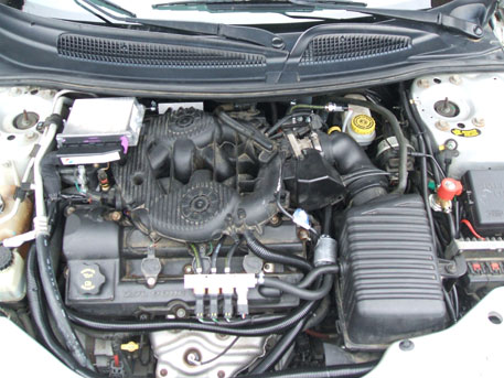 LPG Conversion Chrysler Sebring 2.7L V6 year 2006 with Multipoint Gas Injection System