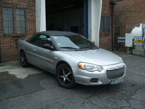 LPG Conversion Chrysler Sebring 2.7L V6 year 2006