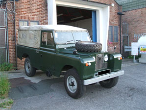 LPG Conversion Land Rover Defender 2.25 year 1968