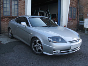 LPG Conversion Hyundai Coupe 2.7L V6 year 2003