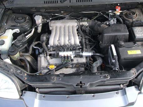 Lpg Conversion Hyundai Santa Fe Cc V Year Front Lpg Kit