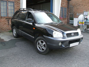 LPG Conversion Hyundai Santa Fe 2.7 V6year 2004