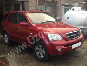 LPG Conversion Kia Sorento 3.5L V6 year 2003