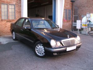 LPG Conversion Mercedes-Benz E240 2.4L V6 year 2001