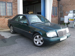 LPG Conversion Mercedes-Benz E320 3.2L  year 1996