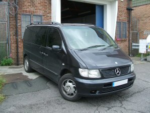 LPG Conversion Mercedes-Benz V280 2.8L V6 year 1998