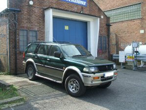 LPG Conversion Mitsubishi Challenger 3.0L year 1996