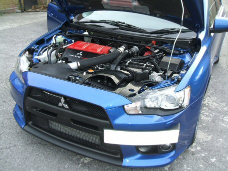 LPG Conversion Mitsubishi Lancer EVO-X 2.0L TURBO 300BHP year 2008 by OZON LPG