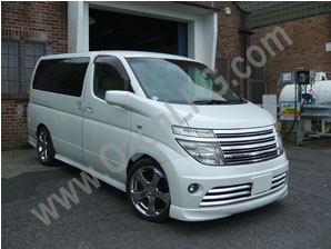 LPG Conversion Nissan Elgrand 3.5L V6 year 2002