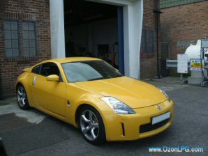 LPG Conversion Nissan Z350 3.5L V6 year 2005