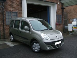 LPG Conversion Renault Kangoo 1.6L year 2011