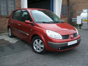 LPG Conversion Renault Scenic 1.6L year 2006