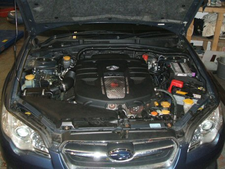 LPG Conversion Subaru Legacy 3.0L Flat6 year 2005 with Multipoint Gas Injection System