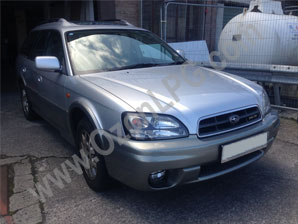 LPG Conversion Subaru Outback 3.0L H6 year 2004