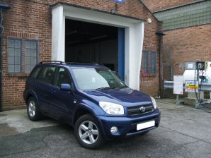 LPG Conversion Toyota Rav4 2.0L year 2005