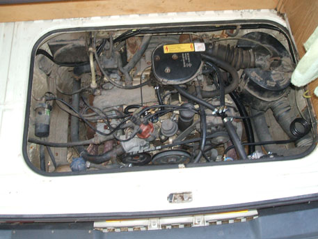 LPG Conversion VW Transporter Camper Van 21L Year 1991 With Single Point Gas Injection System