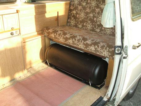 LPG Conversion VW Transporter Camper Van 21L Year 1991 With 65L Tank