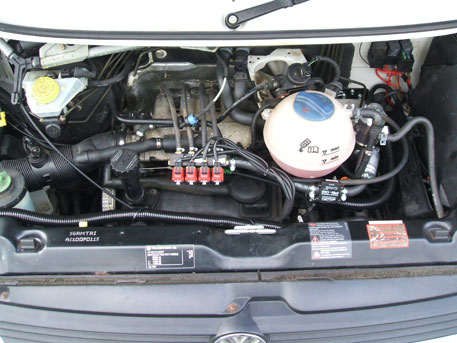 LPG Conversion VW Transporter Autosleeper 1.9L year 2001 with Multipoint Gas Injection System