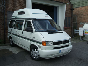 LPG Conversion VW AutoSleeper 1.9L year 2001