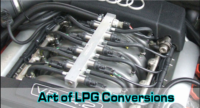 Professional LPG Conversions in Plymouth. Art of LPG Conversions