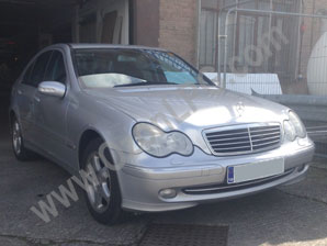 LPG Conversion Mercedes-Benz C200 1.8L KOMPRESSOR year 2004
