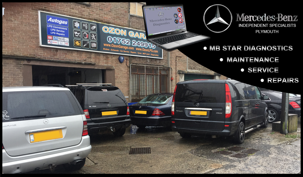 Mercedes Benz Independent Specialists in Plymouth Devon UK