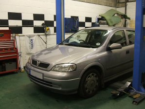 LPG Conversion Vauxhall Astra 1.6L year 2002