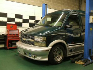 LPG Conversion Chevrolet Astro CMFI 4.3L V6 Vortec year 1996
