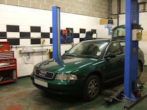 LPG Conversion AUDI A4 2.6L V6 year 1998