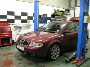 LPG Conversion AUDI A4 1.8L Turbo year 2001