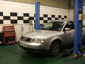 LPG Conversion AUDI A6 2.4L V6 year 1998