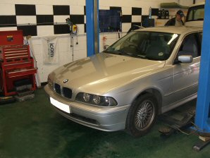 LPG Conversion BMW 520i 2.1L year 2001