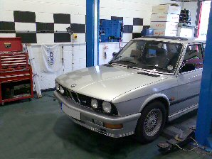 LPG Conversion BMW M5 535i 3.5L year 1986