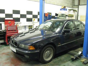 LPG Conversion BMW 520 year 1999