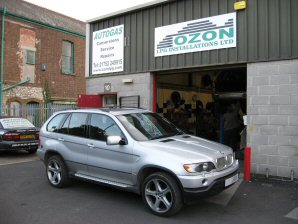 LPG Conversion BMW X5 4.4L V8 year 2003