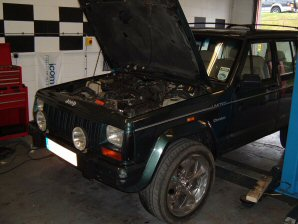 LPG Conversion Jeep Cherokee 4.0L year 1993