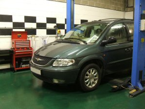 LPG Conversion Chrysler Grand Voyager 3.3L V6 year 2003