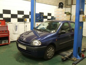 LPG Conversion Renault Clio 1.4L year 1998