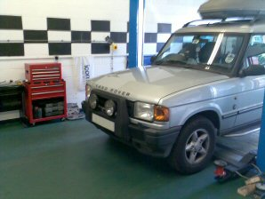 LPG Conversion Land Rover Discovery 2.5 TD Diesel year 1998