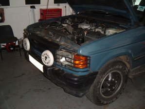 LPG Conversion Land Rover Discovery 4.0L V8 year 1995