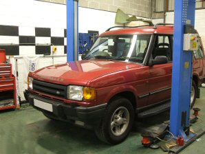LPG Conversion Land Rover Discovery 3.9L year 1998