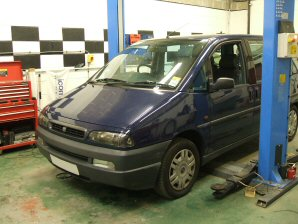 LPG Conversion Fiat Ulysse 2.0L year 1999