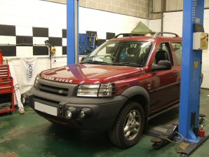 LPG Conversion Land Rover Freelander 2.5L V6 year 2000