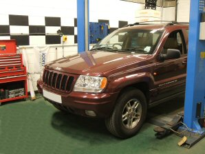 LPG Conversion Jeep Grand Cherokee 4.7L V8 year 1999