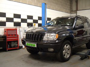 LPG Conversion Jeep Grand Cherokee 4.0L year 1999 MULTIPOINT SYSTEM